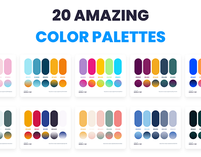 20 Amazing Color Palettes Via Dopely Colors