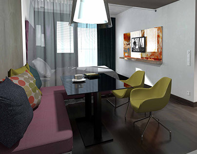 ONYX apartment house / interior design 2016