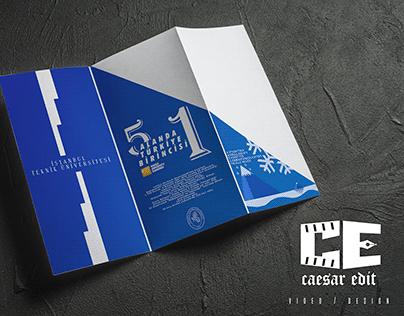 İstanbul Teknik Üniversitesi Örnek / Sample Brochure