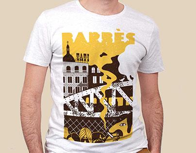 T-shirt Barbes