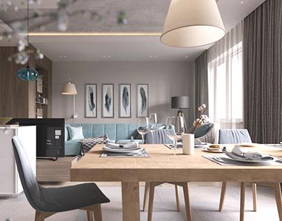 Apartment in Samara