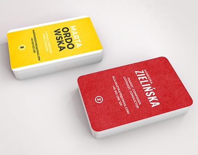 A free business cards mockup
