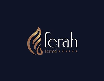 Ferah Termal Otel Logo Design