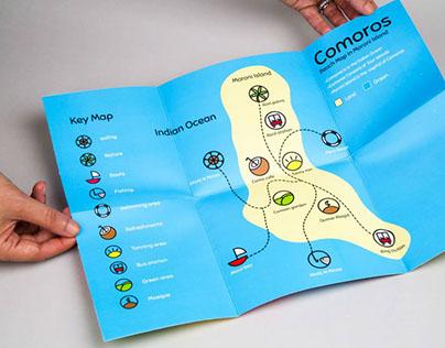 Comoros - icons set