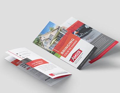 AMOS Brochure Design