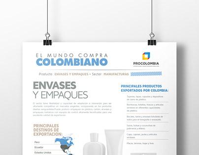 Fichas Exportación - Procolombina