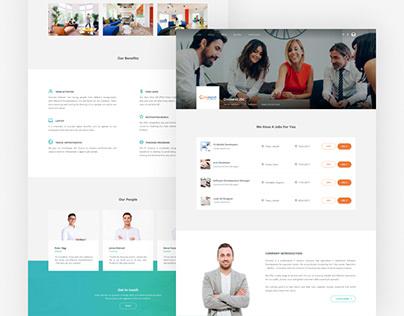 Flyout Web Design