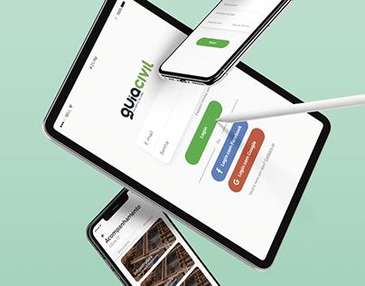 UX Design - App Guia Civil