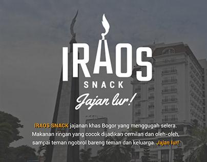 IRAOS SNACK - Logo Design