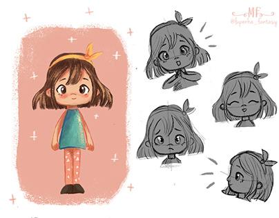Character design - Children book