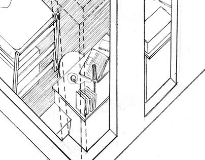 Dorm Rooms Design Drawings