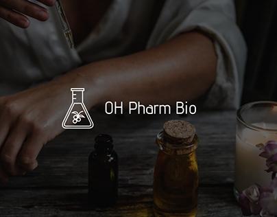 OH Pharm Bio TM, Landing page & Logo design