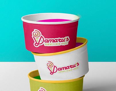Logo Damaru's sorveteria