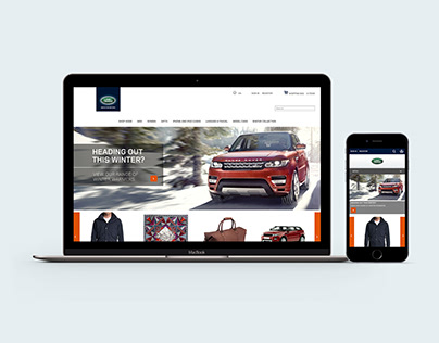 Land Rover online store