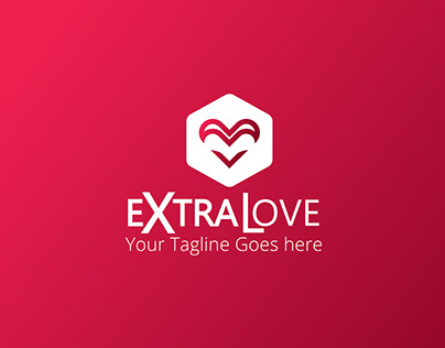 Simple Extra Love Logo/Branding Design
