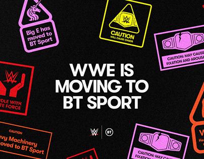 WWE is Moving — BT Sport