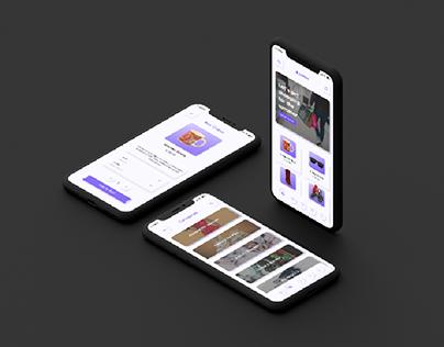 Neumorphic E-commerce Mobile App