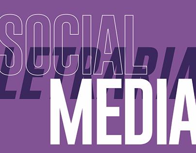 Social Media   Letraria