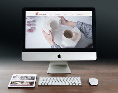 58 - Web Design - Pottery Krus