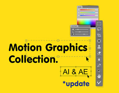 Motion Graphics Collection / UPDATE