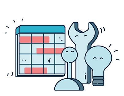 Illustrative Webdesign Assets