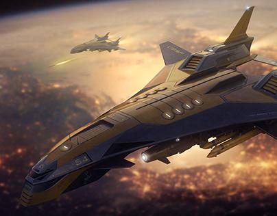 Strategic bomber concept