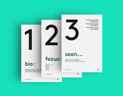 3 steps. - branding