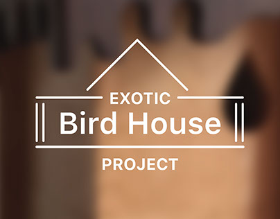 Exotic Bird House