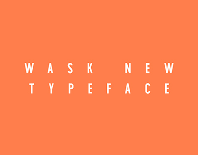 Wask New. Free font