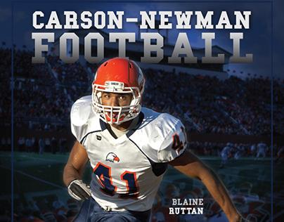 Carson-Newman College Football Program Covers