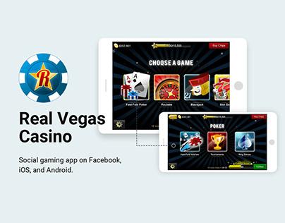 Real Vegas Casino - UI / Illustration