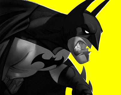 Batman Day Fanart Illustration