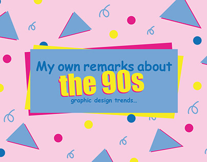 the 90s graphic design trends
