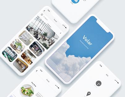 Volar. airport app design