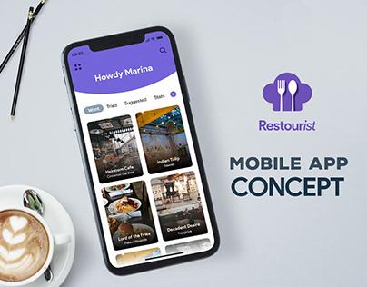 Restourist - Mobile App Concept