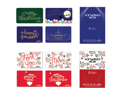 Cineplex Holiday Gift Cards 2019-2020
