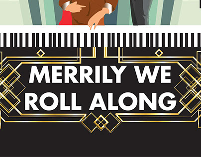 how to play merrily we roll along