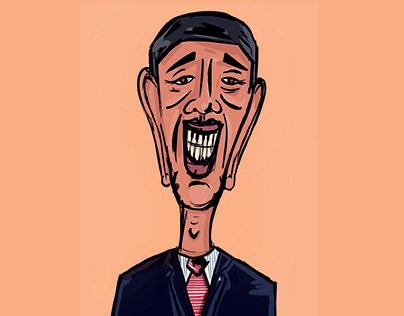 Illustration - Barack Obama