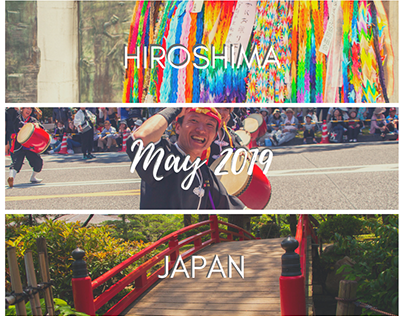 Hiroshima, Japan - May 2019