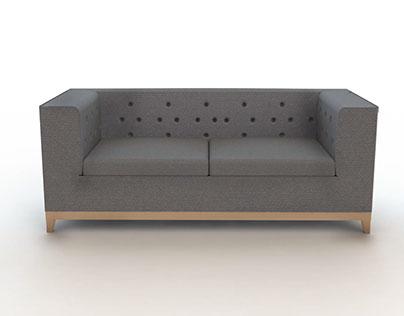 Roma Deep buttoned Sofa
