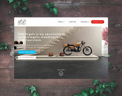 VDS Tegels Logo & Web Design