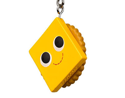 Yummy World - Snack Attack Keychains