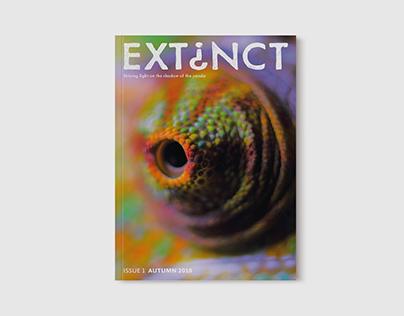 Extinct Magazine Design
