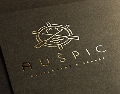Auspic restaurant & lounge corporate identity