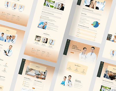 Healthcare & Medical Consultant Website Design