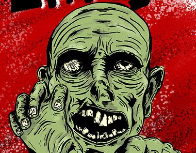Grr! Argh! Zombie Poster