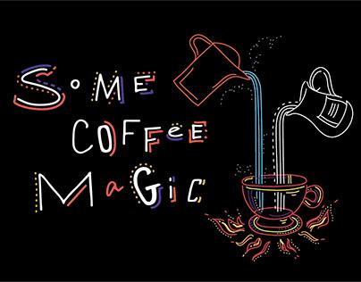 Coffee Magic animation