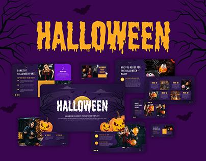 Halloween Party Powerpoint Presentation Template