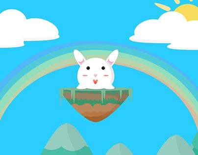 Bunny on Ground