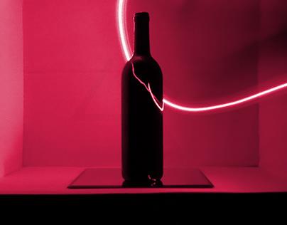 Red line wine Bottle 7-8